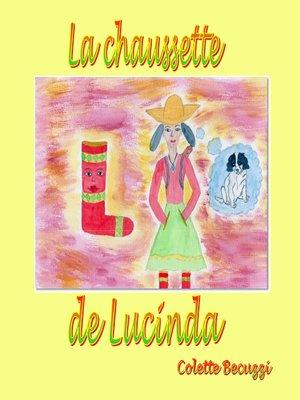 cover image of La chaussette de Lucinda