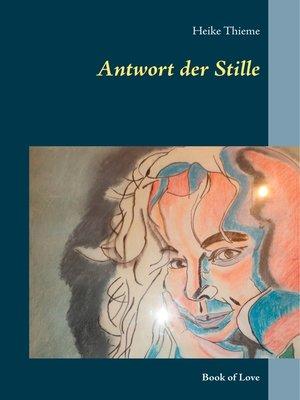 cover image of Antwort der Stille