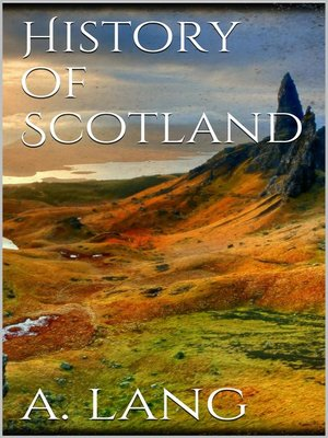 cover image of History of Scotland