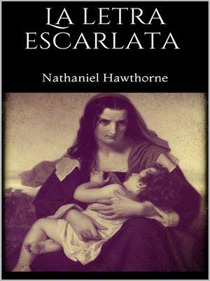 cover image of La letra escarlata
