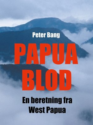 cover image of Papua Blod