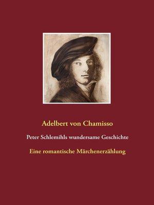 cover image of Peter Schlemihls wundersame Geschichte