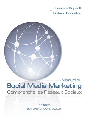cover image of Manuel du Social Media Marketing