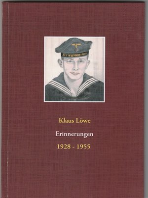 cover image of Erinnerungen 1928--1955