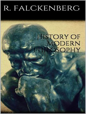 cover image of History of Modern Philosophy