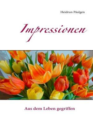 cover image of Impressionen