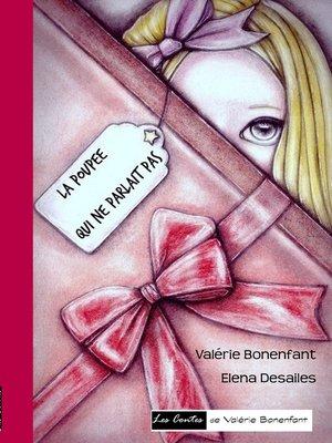 cover image of La poupée qui ne parlait pas