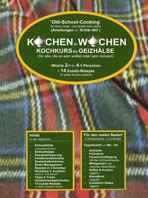 cover image of Kochkurs für Geizhälse