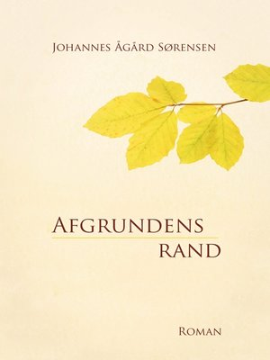 cover image of Afgrundens rand