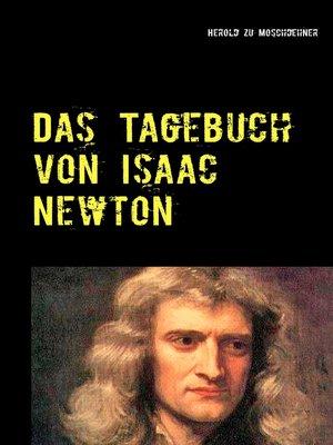 cover image of Das Tagebuch von Isaac Newton