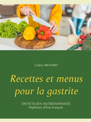 cover image of Recettes et menus pour la gastrite