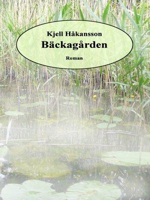 cover image of Bäckagården