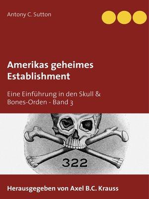 cover image of Eine Einführung in den Skull & Bones-Orden