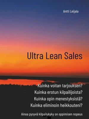 cover image of Ultra Lean Sales