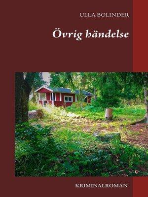 cover image of Övrig händelse