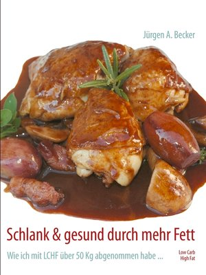 cover image of Schlank & gesund durch mehr Fett