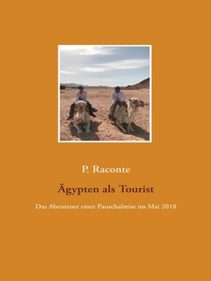 cover image of Ägypten als Tourist