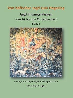 cover image of Von höfischer Jagd zum Hegering