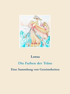 cover image of Die Farben der Träne