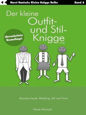 cover image of Der kleine Outfit- und Stil-Knigge 2100