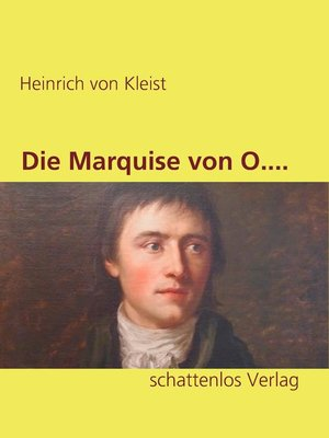 cover image of Die Marquise von O....