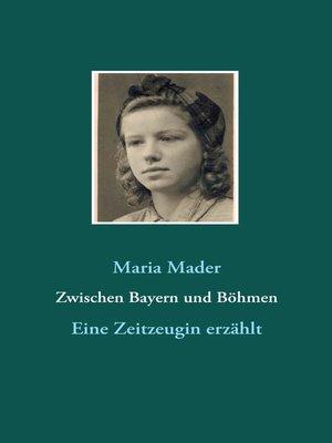 cover image of Zwischen Bayern und Böhmen