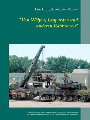 """cover image of """"Von Wölfen, Leoparden und anderen Raubtieren"""""""