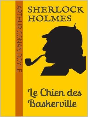 cover image of Sherlock Holmes--Le Chien des Baskerville
