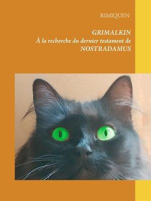 cover image of À la recherche du dernier testament de Nostradamus