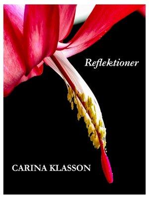 cover image of Reflektioner