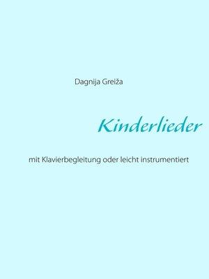 cover image of Kinderlieder