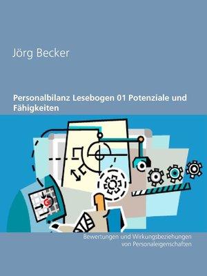 cover image of Personalbilanz Lesebogen 01 Potenziale und Fähigkeiten