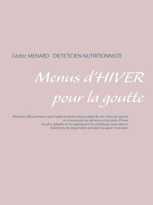 cover image of Menus d'hiver pour la goutte