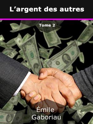 cover image of L'argent des autres