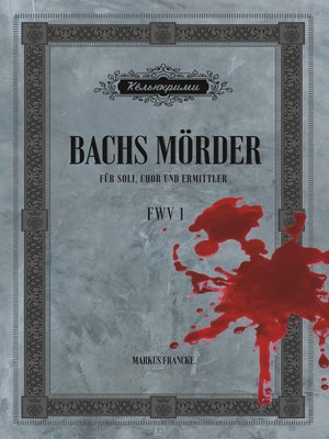 cover image of Bachs Mörder