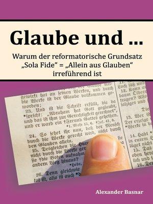 cover image of Glaube und ...