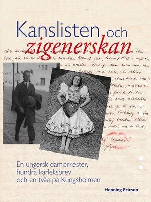 cover image of Kanslisten och zigenerskan