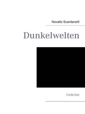 cover image of Dunkelwelten