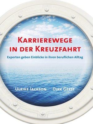 cover image of Karrierewege in der Kreuzfahrt