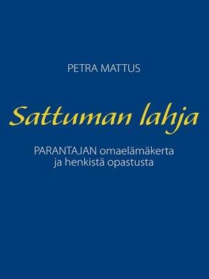 cover image of Sattuman Lahja