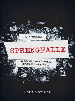 cover image of Sprengfalle
