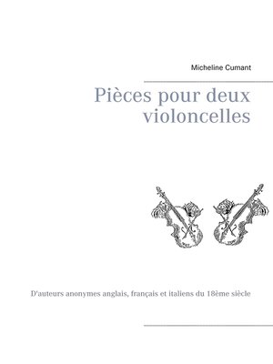 cover image of Pièces pour deux violoncelles