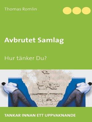 cover image of Avbrutet Samlag