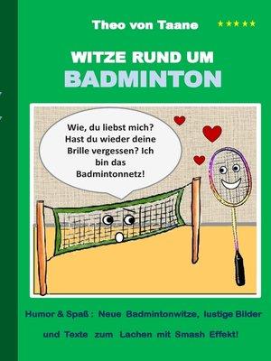 cover image of Witze rund um Badminton