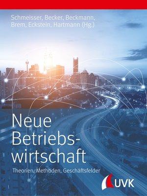 cover image of Neue Betriebswirtschaft