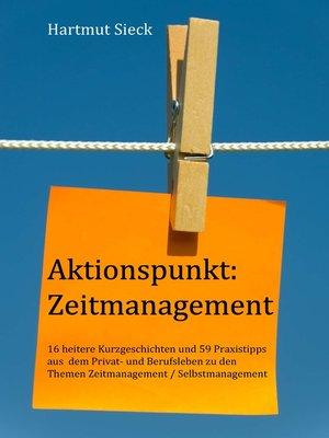 cover image of Aktionspunkt--Zeitmanagement