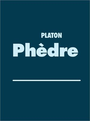 cover image of Phèdre