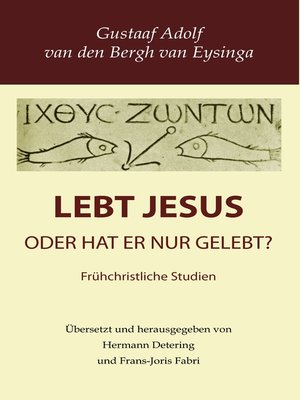 cover image of Lebt Jesus?