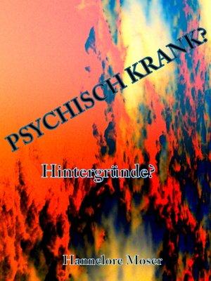 cover image of Psychisch krank?