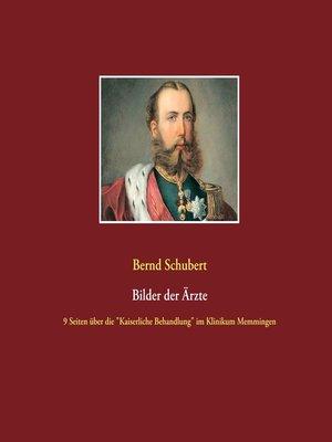 cover image of Bilder der Ärzte